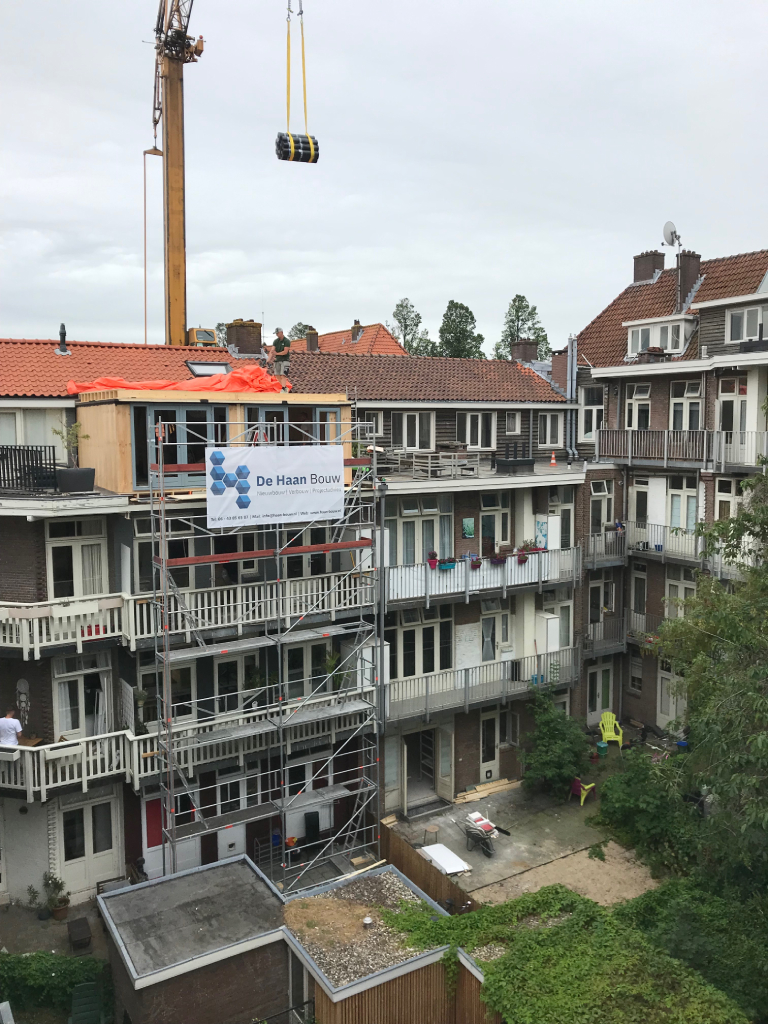 Casco dakopbouw Amsterdam - overview