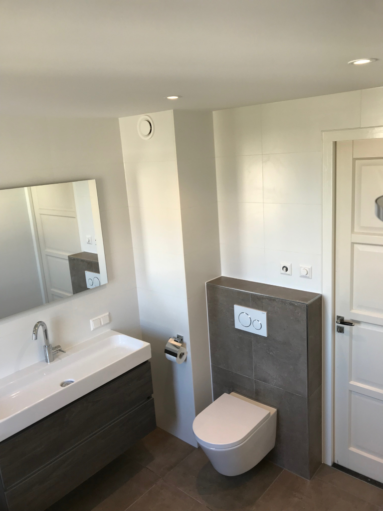 Badkamer Spaarndam - uitgelicht